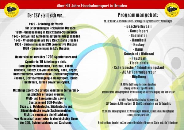 ESV Sommerfest @ ESV Dresden | Dresden | Sachsen | Deutschland