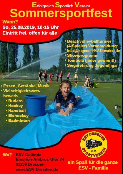 ESV Dresden Sommerfest @ ESV Dresden