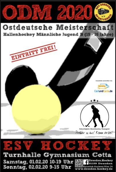 ! Ostdeutsche Hockey Meisterschaft der männlichen Jugend B in Dresden @ Halle Gymnasium Cotta